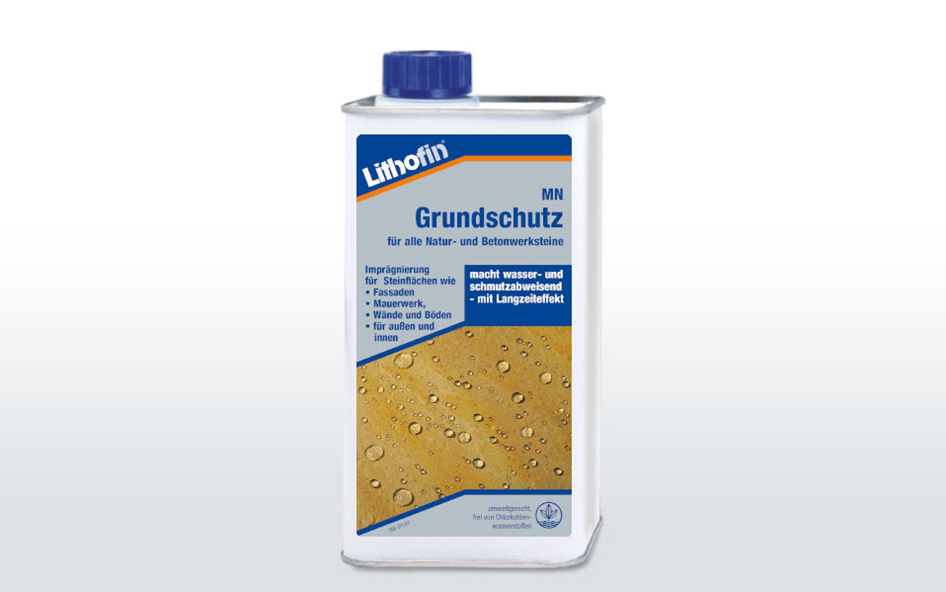 Lithofin MN Farbvertiefer 3 l macht wasser /& schmutzabweisend l/ösemittelhaltig